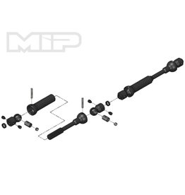MIP MIP18120 MIP AXIAL SCX10 CENTER DRIVE KIT