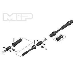 MIP MIP18160 CENTER DRIVEKIT SCX10 TRAIL HONCHO/WRANGLER/CHEROKEE/WRAITH