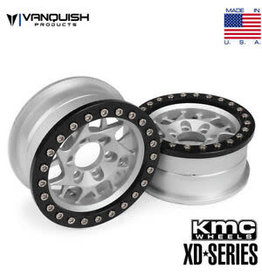 VANQUISH VPS07711 VANQUISH KMC XD127 BULLY 1.9 ALUMINUM BEADLOCK WHEEL