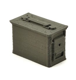 SCALE BY CHRIS SBC009GREEN AMMO BOX (GREEN)