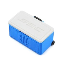 SCALE BY CHRIS SBC016BLUE WHEELED ICE CHEST (BLUE)