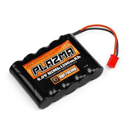 HPI RACING HPI110203 PLAZMA 6.0V 1200MAH NI-MH BATTERY: MICRO RS4