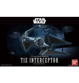 BANDAI BAN208099 TIE INTERCEPTOR 1/72 SCALE STAR WARS