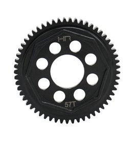 HOT RACING HRASATF257 STEEL SPUR GEAR 57T 08.MOD: ARRMA 4S