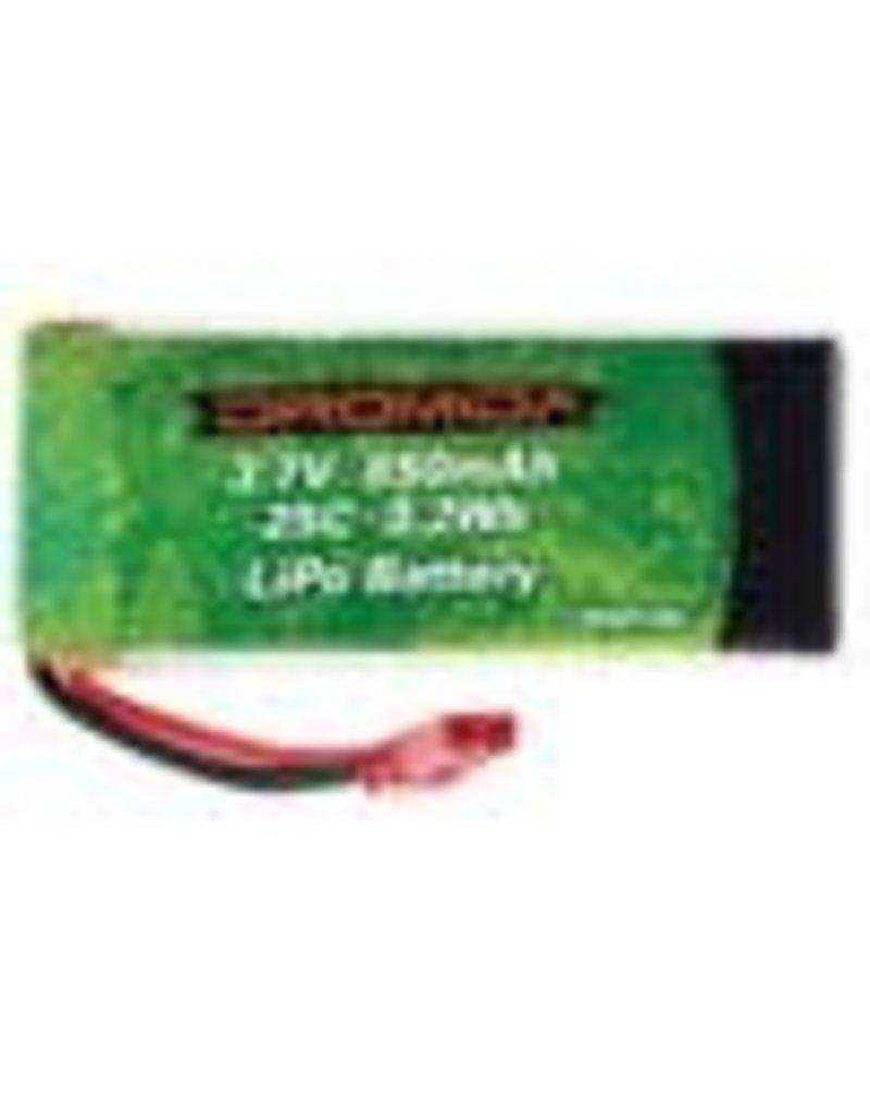 DROMIDA DIDP1106 3.7V 850mAH 25C  LIPO BATTERY