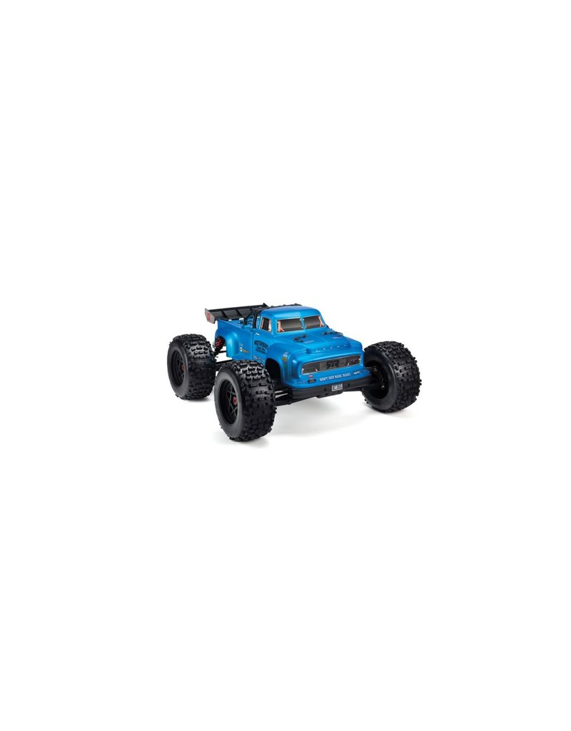 ARRMA AR406152 NOTORIOUS 6S BLX PAINTED DECALED TRIMMED BODY