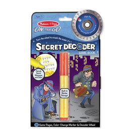 MELISSA & DOUG MD5248 SECRET DECODER BOOK
