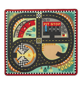MELISSA & DOUG MD9401 ROUND THE SPEEDWAY RACE TRACK RUG