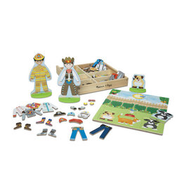 MELISSA & DOUG MD9309 OCCUPATIONS MAGNETIC PRETEND PLAY SET