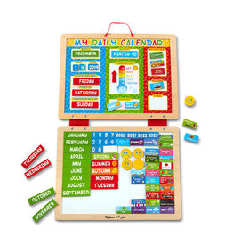 MELISSA & DOUG MD9253 MY FIRST DAILY MAGNETIC CALENDAR