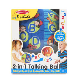 MELISSA & DOUG MD9181 2 IN 1 TALKING BALL