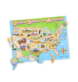 MELISSA & DOUG MD9073 USA MAP JIGSAW PUZZLE