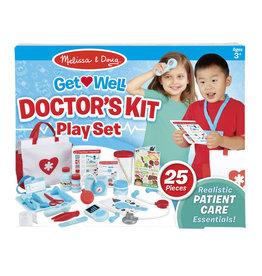 MELISSA & DOUG MD8569 GET WELL DOCTOR'S KIT PLAY SET