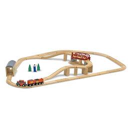 MELISSA & DOUG MD704 SWIVEL BRIDGE TRAIN SET