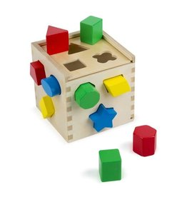 MELISSA & DOUG MD575 SHAPE SORTING CUBE