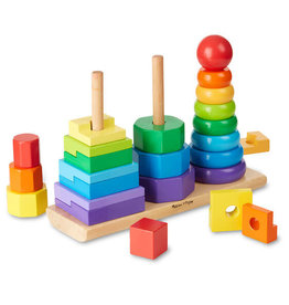 MELISSA & DOUG MD567 GEOMETRIC STACKER
