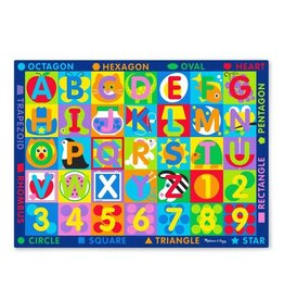 MELISSA & DOUG MD5193 JUMBO ABC 123 RUG