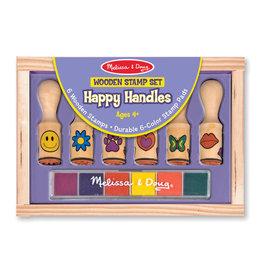 MELISSA & DOUG MD2407 HAPPY HANDLE STAMP SET