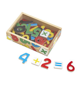 MELISSA & DOUG MD449 MAGNETIC WOODEN NUMBERS