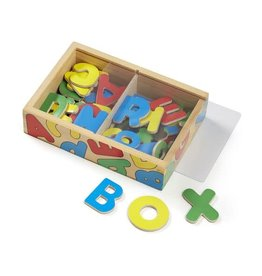MELISSA & DOUG MD448 MAGNETIC WOODEN ALPHABET