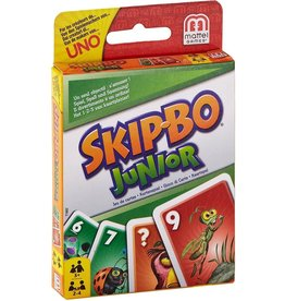 MATTEL MTLT1882 UNO SKIP-BO JUNIOR CARD GAME