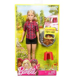 MATTEL BARBIE CAMPING FUN