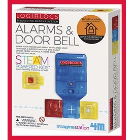 TOYSMITH TS4078 ALARMS AND DOORBELL