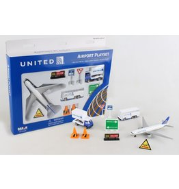 DARON WORLDWIDE RT6261 UNITED AIRLINES PLAYSET