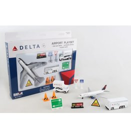 DARON WORLDWIDE RT4991 DELTA AIRLINES PLAYSET