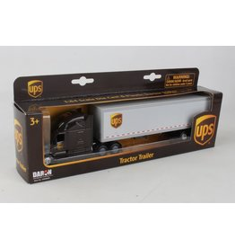 DARON WORLDWIDE GW68061 UPS TRACTOR TRAILER 1/64