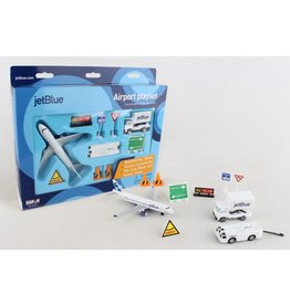 DARON WORLDWIDE RT1221 JETBLUE AIRPORT PLAY SET