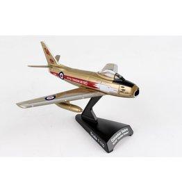 """POSTAGE STAMP PS5361-4 1/110 CANADAIR SABRE """"GOLDERN HAWKS"""" RCAF"""