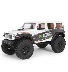 AXIAL AXI00002T1 1/24 SCX24 2019 JEEP WRANGLER JLU CRC 4WD RTR: WHITE