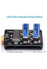 BETAFPV BETA-MC 1S MULTI CHARGER BOARD AND AC ADAPTER