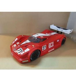 DELTA PLASTIK USA DP8501/2 TOYOTA GT ONE BODY 1/7 SCALE 2MM