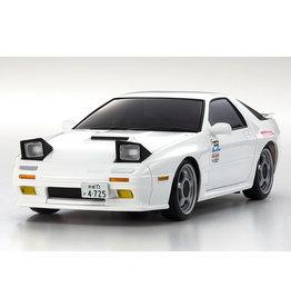 KYOSHO KYO32611W MINI-Z AWD INITIAL D SAVANNA RX-7 MAZDA FC3S WHITE