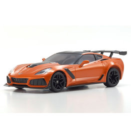 KYOSHO KYO32334OR MINI-Z RWD CORVETTE ZR1 ORANGE WITH LED