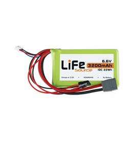 HOBBICO HCAM6446 LiFe 2S 6.6V 3200MAH