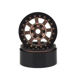SSD RC SSD00180 1.9″ ASSASSIN BEADLOCK WHEELS BRONZE