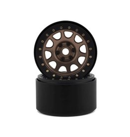 "SSD RC SSD00308 2.2"" D HOLE CRAWLER WHEELS BRONZE"
