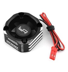 YEAH RACING YEA-YA-0576BK ALUMINUM CASE 30X30MM BOOSTER FAN BLACK