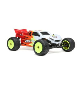 LOSI LOS01015T1 1/18 MINI-T 2WD 2.0 RTR: RED/WHITE