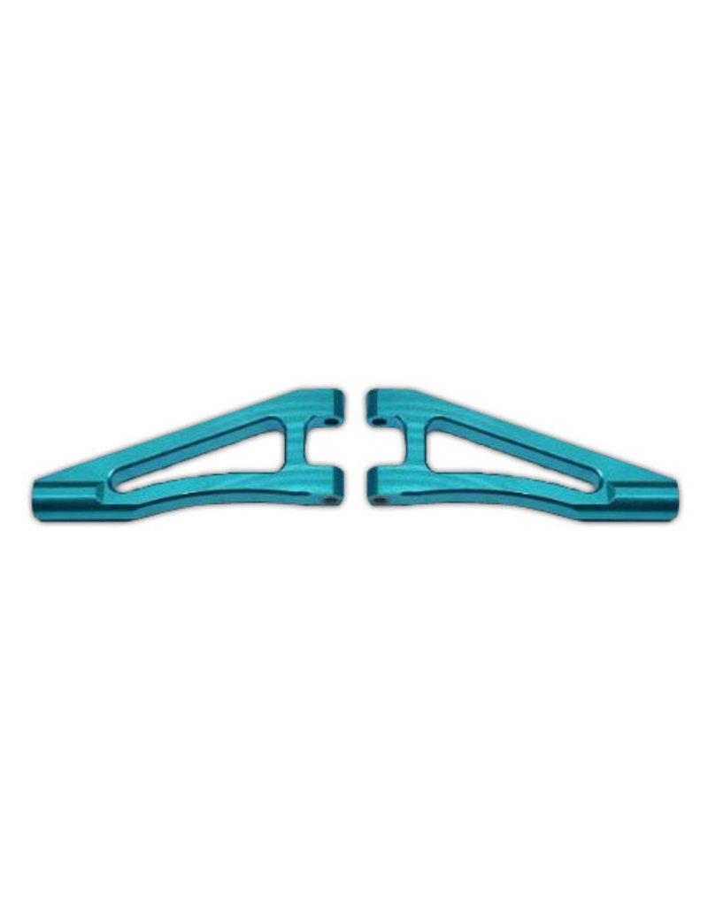 REDCAT RACING 06039B BLUE ALUMINUM FRONT UPPER ARM (2)