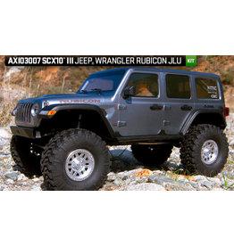 AXIAL AXI03007 SCX10 III JEEP WRANGLER RUBICON JLU 1/10 SCALE 4WD CRAWLER KIT