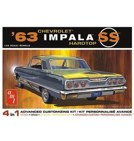 AMT AMT1149M 1/25 1963 CHEVY IMPALA SS