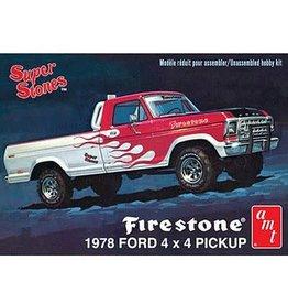 AMT AMT858 1/25 1978 FORD PICK-UP 4X4 FIRESTONE SUPER STORES