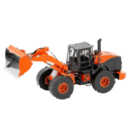 METAL EARTH MMS183 WHEEL LOADER - COLOR (2  SHEETS)