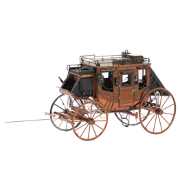 METAL EARTH MMS189 WILD WEST STAGECOACH - COLOR (3  SHEETS)