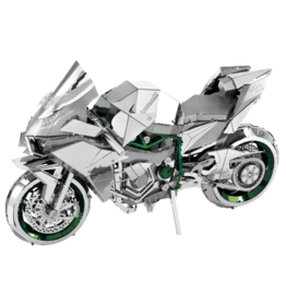 METAL EARTH ICX021 KAWASAKI NINJA MOTORCYCLE - COLOR (2  SHEETS)