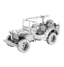 METAL EARTH ICX107 JEEP WILLYS  (2  SHEETS)